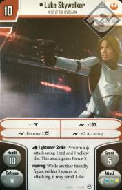 Luke Skywalker Alternate Art