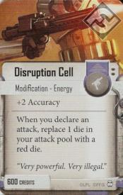 Disruption Cell