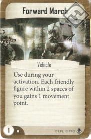 Forward March command card