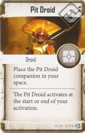 Pit Droid supply