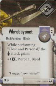Vibrobayonet